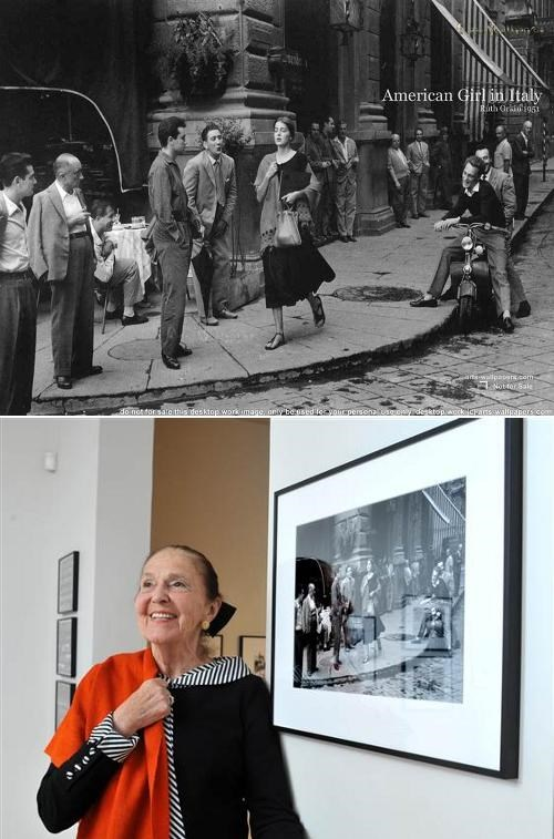 American Girl in Italy Ninalee Craig Ruth Orkin Then And Now where are they now - 5107067904