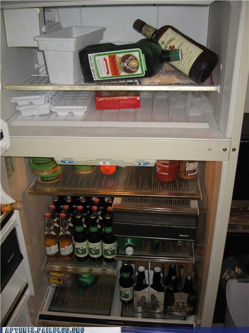 all set booze move in refrigerator stocked - 5107573248