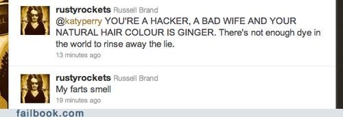 katy perry,Russell Brand,twitter