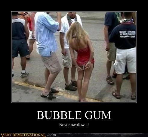 babe,gum,Pure Awesome,thong,urban myth