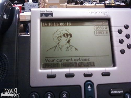back to the future Doc Brown Office phone - 5107755520