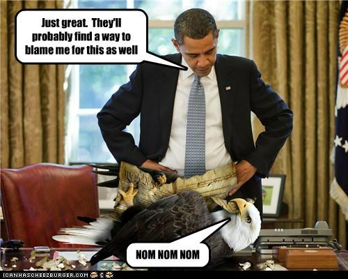 barack obama Democrat eagle fake funny president shoop - 5108307456