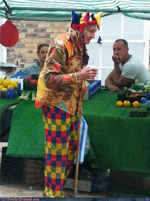 checkered,colorful,jester,market