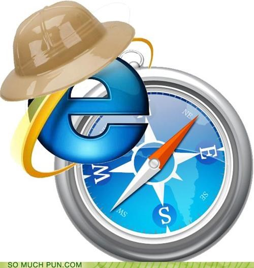 Internet Explorer on Safari