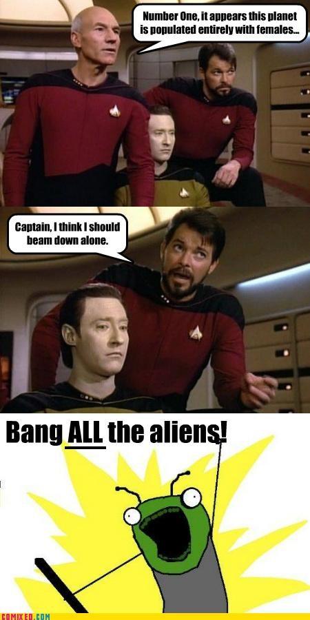 all the things meme randy riker Star Trek - 5110823680