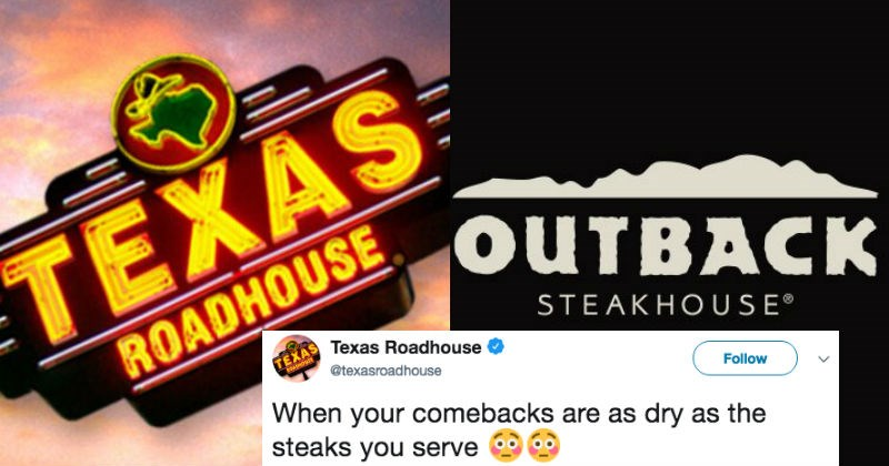twitter outback steakhouse roast food funny - 5111045
