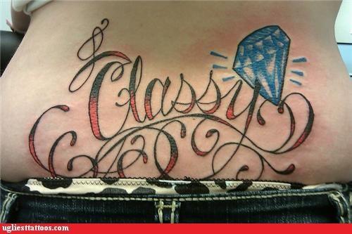 classy diamond tramp stamp - 5111133184