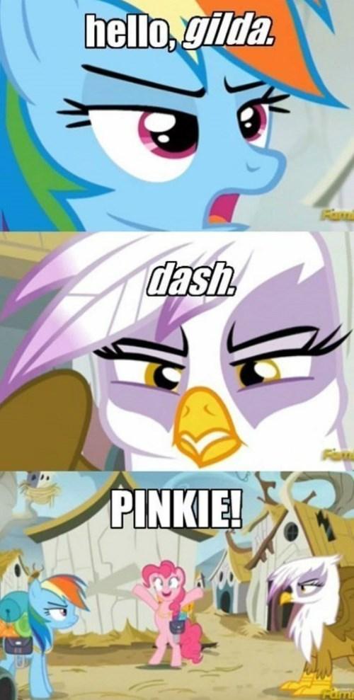 gilda,Memes,mlp name game,rainbow dash