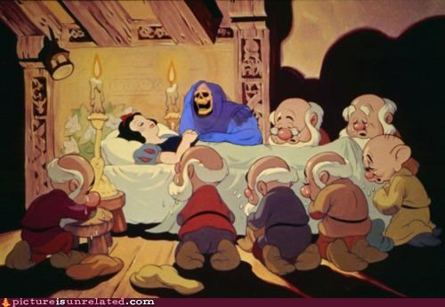 he man,seven dwarves,skeletor,wtf