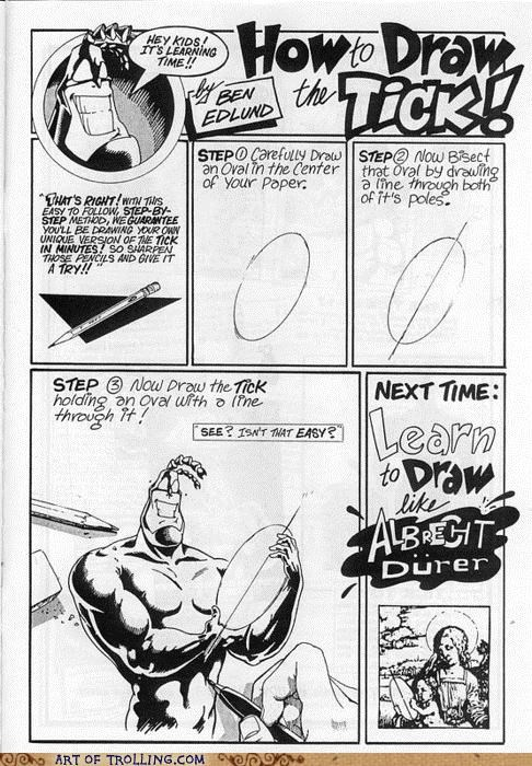 best of week drawing oval the tick - 5112893184