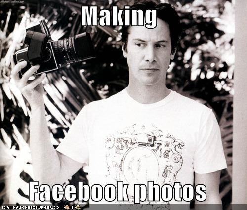 Making   Facebook photos
