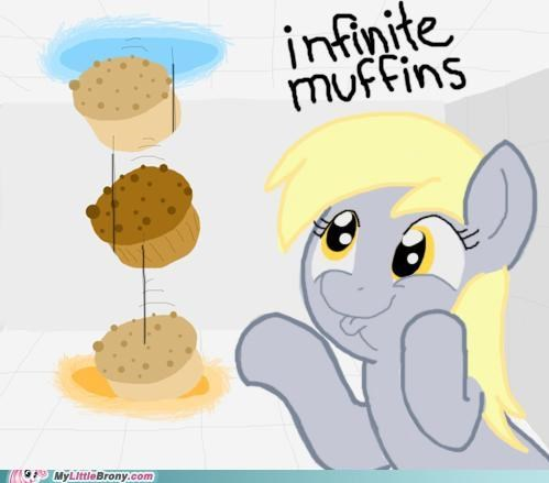 crossover derpy hooves muffins my little portal Portal - 5113124864