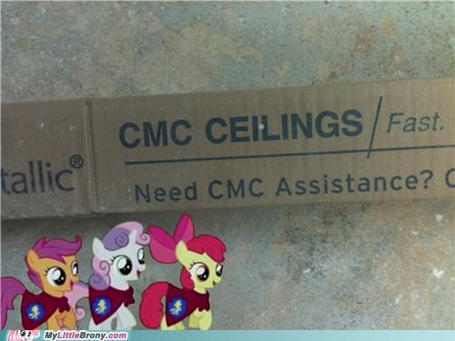 cmc,cutie mark crusaders,IRL,work