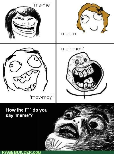 forever alone meem meme Pronunciation Rage Comics troll - 5113755392