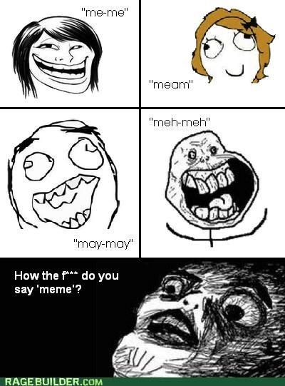 forever alone meem meme Pronunciation Rage Comics troll - 5113755392