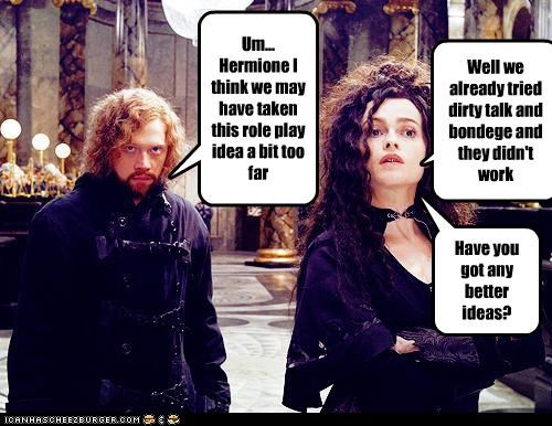 actor,celeb,funny,Harry Potter,helena bonham-carter,Movie,rupert grint,sci fi