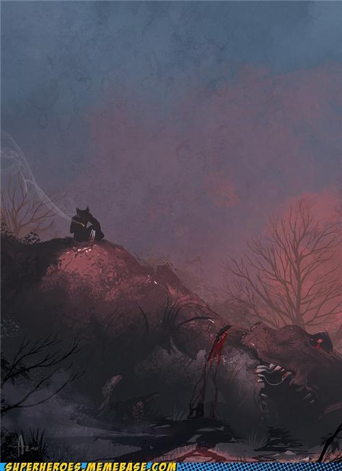 awesome Awesome Art Battle wolverine - 5114580480