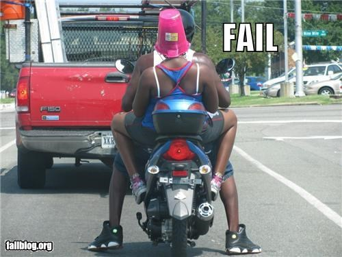 classic,dangerous,failboat,g rated,helmet,motorcycle,safety first,stupidity