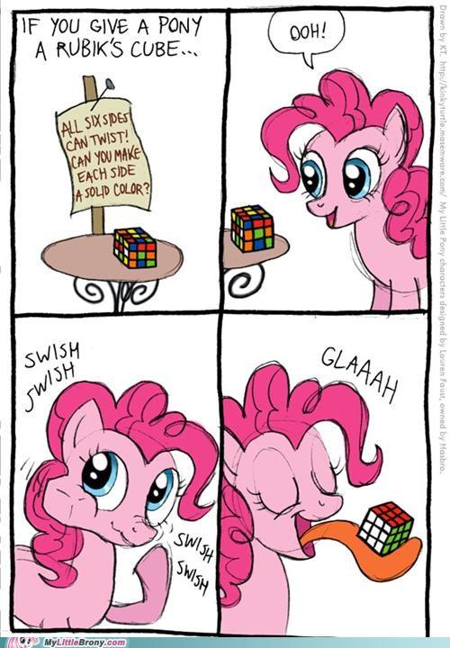 comic comics ponies puzzle rubiks cube solve - 5114831872