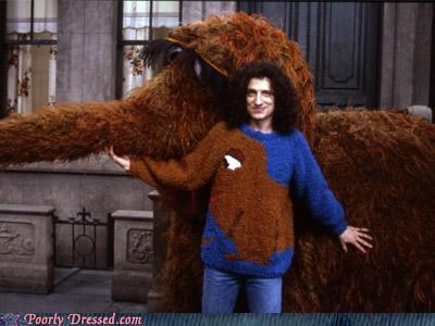 Sesame Street,snuffleupagus,sweater