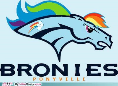 best of week Bronies crossover Denver Broncos football ponyville rainbow dash - 5115540224