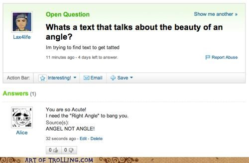 angel,angle,spelling,tattoo,Yahoo Answer Fails
