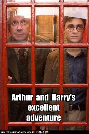 Arthur and Harry's excellent adventure