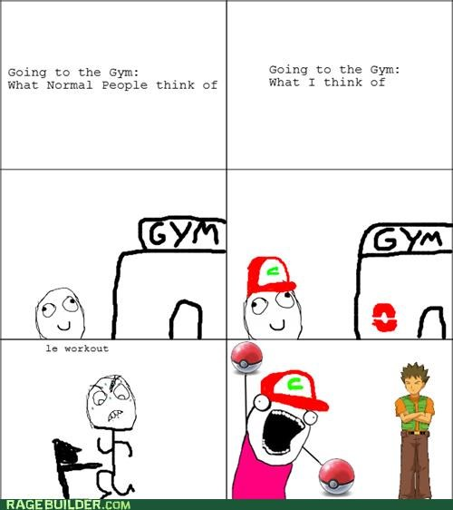 best of week gym Pokémon Rage Comics trainer - 5116733184