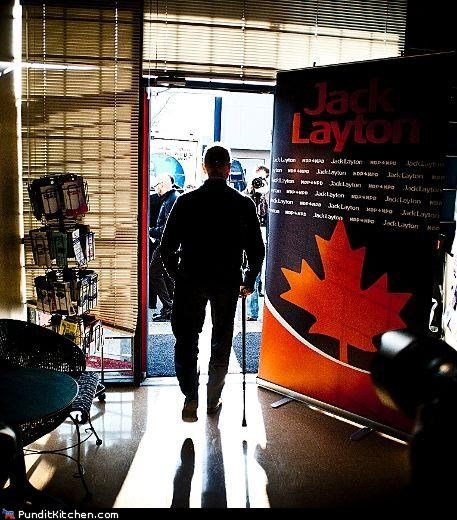 Canada,jack layton,political pictures