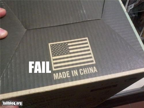 AMERRICA China failboat flag geography g rated