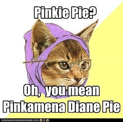 full name hipster cat pinkie pie - 5117153536