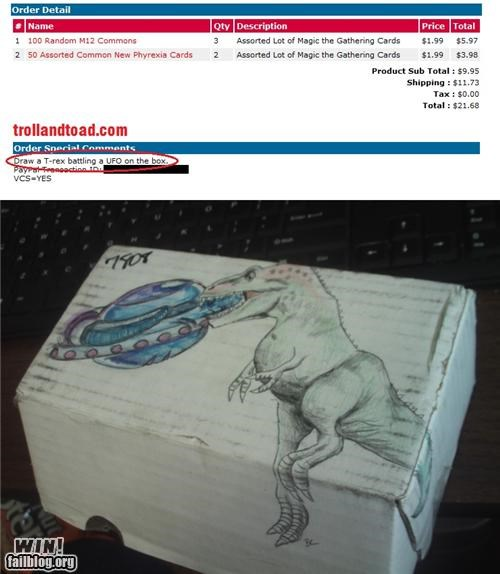 box,business,customer service,drawing,magic the gathering,request