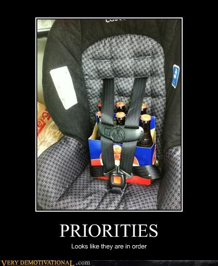 PRIORITIES Looks like they are in order