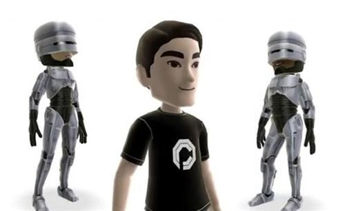 avatar gear,avatars,movies,robocop,video games,xbox live,xbox live marketplace