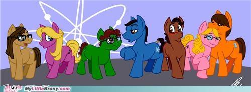 Big Bang Theory Ponies
