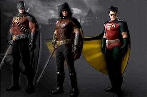 arkham city,Batman Arkham City,costume,DLC,robin,skins,superheroes,video games