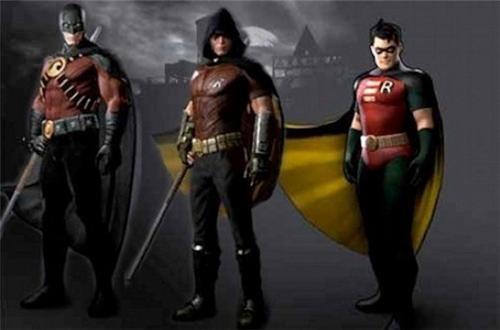 arkham city Batman Arkham City costume DLC robin skins superheroes video games - 5117727744