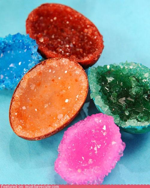 best of the week craft crystals DIY eggs geodes Martha Stewart - 5117729024
