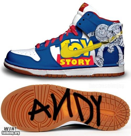 fashion,nike,pop culture,shoes,toy story