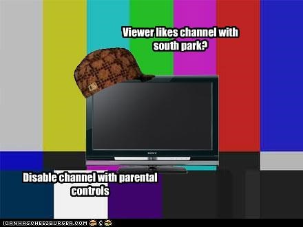 Viewer likes channel with south park? Disable channel with parental controls