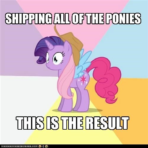 SHIPPING ALL OF THE PONIES