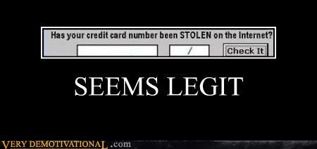 credit card,hilarious,seems legit