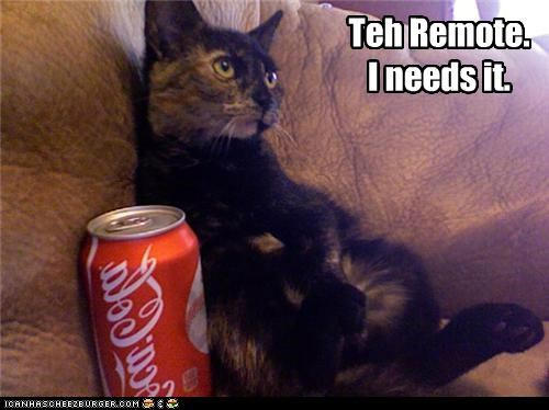 Teh Remote. I needs it.
