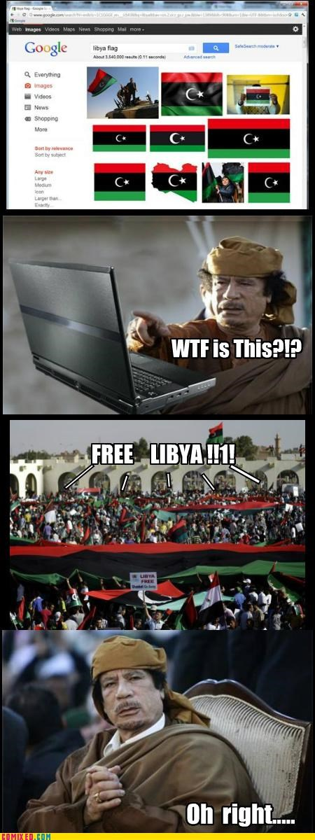 gadaffi libya politics wtf is this