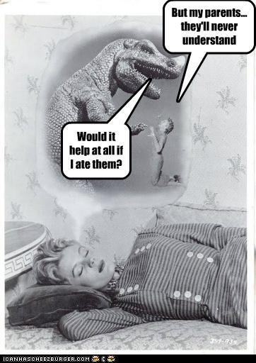 dinosaur funny Photo - 5119227392