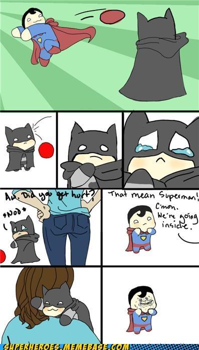 Awesome Art batman best of week cute superman - 5119399424