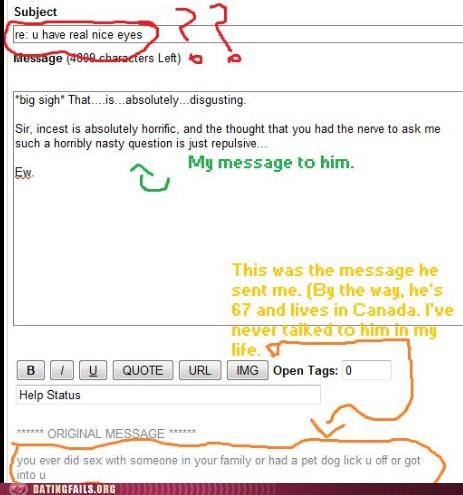 creeper email incest ok cupid sex We Are Dating - 5119894784