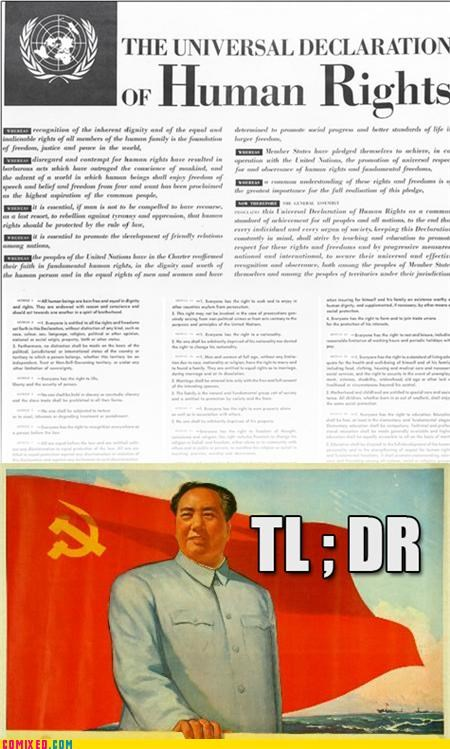 China human rights politics tldr un