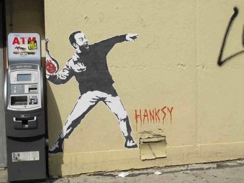 banksy Hanksy nyc Street Art - 5120358656