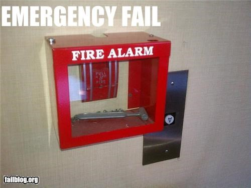 emergency,failboat,fire alarm,g rated,safety first